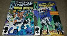 1 2 Marvel Comics Amazing Spider-man 284 286 NM Signed Stan Lee book 87 Copper