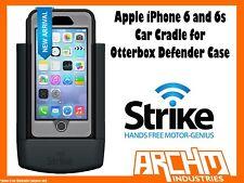STRIKE ALPHA APPLE IPHONE 6 & 6s CAR CRADLE FOR OTTERBOX DEFENDER CASE - CHARGER