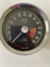Early MGB 1962 - 1964 + Early MG Midget MKI Tachometer RN2312/01   OEM  USED