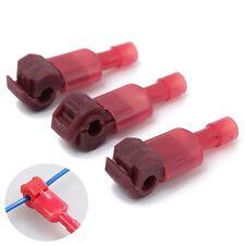 40 Pcs Electrical Cable Connectors Quick Splice Lock Wire Terminals Crimp