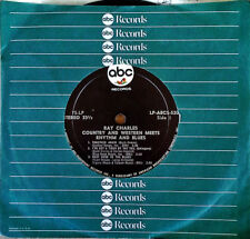 "RAY CHARLES - C&W MEETS R&B  -  7"" JUKEBOX EP  - 6 TRACKS - ABC - 33 1/3 PROMO"