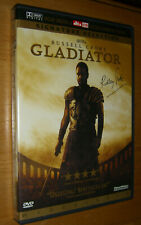 Gladiator Russell Crowe Signature Selection Widescreen 2000. booklet &2 Dvd's