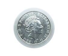 5 Münzkapsel Lindner 39 mm für 2 Oz Silber Queen's Beast / 2 Oz Silber C. Goose