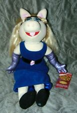 """2004 Sababa Toys The Muppets Show Miss Piggy 16"""" Plush Stuffed Nwt Rare"""