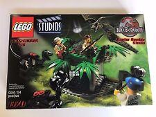 NEW Lego Studios Jurassic Park lll #1370 Raptor Rumble - Sealed