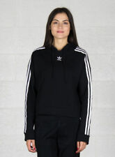 Adidas Cropped hoodie Donna Cy4766 Nero 40 - XS