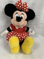 "Disney Minnie Mouse Disneyland Walt Disney World Plush 15"" Stuffed Polka Dot"