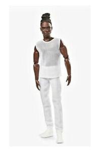 Barbie Signature Looks Ken Doll GXL15 Brunette W/ Braids & Bun Factory Sealed 💥