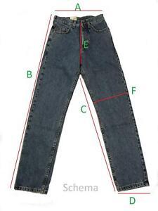 55819 Herren Hose Jeans Forty Four Modell 2081 W36 L33 blau