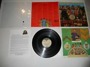 Beatles Sgt Pepper Apple Label Stereo Analog '69 3rd Press VG++ ULTRASONIC Clean