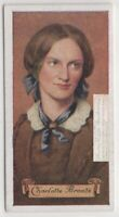 Charlotte Bronte English Novelist Poet Jane Eyre 80+ Y/O Trade  Card