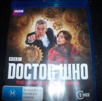 Doctor Who The Complete Eighth Season 8 (Peter Capaldi)(Aust Reg B) Bluray - NEW