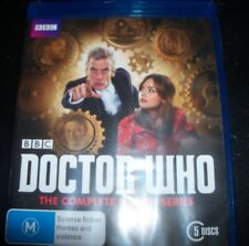 Doctor Who The Complete Eighth Season 8 (Peter Capaldi)(Aust Reg B) Bluray - NEW