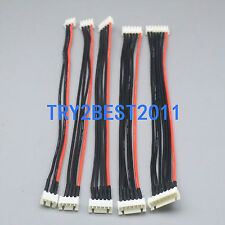 Silicone Wire 2S/3S/4S/5S/6S JST-XH Balance Extension 16CM Adapter Cable RC Lipo