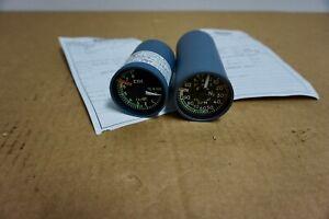 Commercial Jet Aircraft EGT & Percent Tach Indicator
