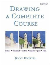 new Drawing A Complete Course Jenny Rodwell pencil charcoal conte pastels ink