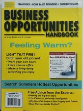Business Opportunities Handbook Summer 2017 Franchise Home Base FREE SHIPPING sb