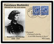 Ireland Easter 1916 Countess Markievicz Commemorative Card FREE POSTAGE.