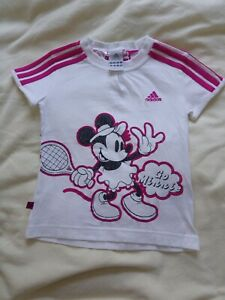 Adidas Minnie Mouse Tshirt 5-6years