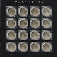 Total Eclipse Of The Sun Solar Moon Forever Stamps Sheet of 16 - FREE SHIPPING
