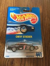 Hot Wheels 1996 Chevy Stocker #441 NASCAR Race Car 1991 Card New MOC