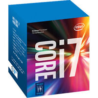 Intel Core i7 7700 Processor 8MB Cache 3.6 GHz LGA1151 Quad Core Desktop PC CPU