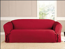 Attractive Red Furniture Slipcovers