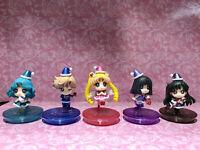 5pcs/Set Petit Chara Series Sailor Moon Christmas Special PVC Figure Cute Gift