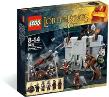 LEGO 9471 Uruk-hai Army Lord of the Rings LOTR — SEALED & NEW!