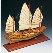"Beautiful, Museum Quality Wooden Model Ship Kit by Amati: ""Chinese Pirate Junk"""
