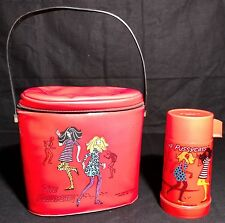 RARE 1968 The Pussycats vinyl lunchbox & thermos. FREE USA SHIPPING!