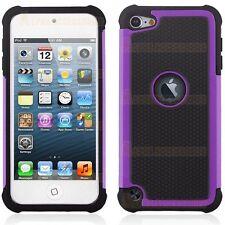 Resistente Doble Capa Silicona Funda Rígida Para Apple iPod Touch 5G 5º GEN