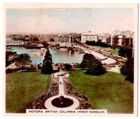 Inner Harbor Victoria British Columbia Canada 1930s Ad Trade Card