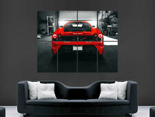 FERRARI 430 RED CAR SUPERCAR  ART WALL LARGE IMAGE GIANT POSTER