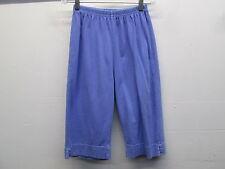 NWOT women's Fresh Produce elastic periwinkle purple Knee cotton shorts size XS