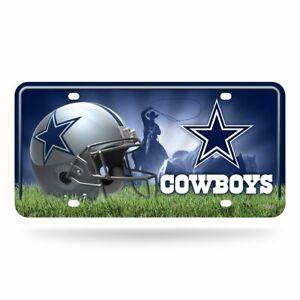 NFL DALLAS COWBOYS LICENSE PLATE CAR TAG NEW