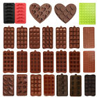 Silicone Ice Cube Tray Chocolate Cake Mold Cookie Candy Jelly Mould  Baking Tool