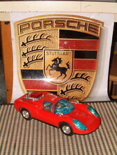 BANDAI, VERY RARE PORSCHE CARRERA W/ FULLY OPERATIONAL BUMP'N GO ACTION!