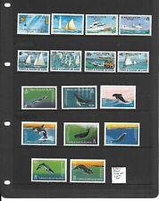 Turks & Caicos Islands 1978-83 3 sets mint