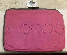 """15"""" Pink Laptop Bag For a 15.6"""" Dell Laptop"""