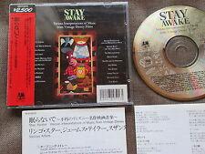 STAY AWAKE VA Ringo Starr JAPAN CD D25Y3270 w/2500y OBI+INSERTS ex-Rental Sun Ra