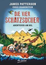 Abenteuer am Nil / Die vier Schatzsucher Bd.2 von James Patterson und Chris Grabenstein (2016, Gebundene Ausgabe)