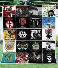 My Favorite Bands Quilt Blanket Gift For Fans
