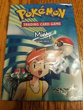 Pokemon Gym Heroes MISTY Starter Theme Deck Sealed