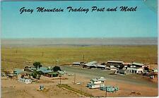 GRAY MOUNTAIN, AZ Arizona  View TRADING POST & MOTEL   c1960s  Cars   Postcard