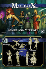 Malifaux: Arcanists Colette Crew Smoke and Mirrors WYR 20318