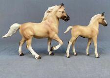 Hagen-Renaker DW Thunder and Roughneck Morgan Horse Colt Ceramic Animal Museum