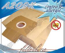 A209K 8 sacchetti filtro carta x Alfatec Eurocompact EC 10
