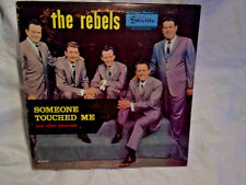 THE REBELS-Someone Touched Me,SIGNED 2 AUTOGRAPH-London Parris,Jimmy Taylor,6035