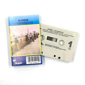 BLONDIE AutoAmerican Cassette Tape 1980 New Wave Alternative Rock Rare